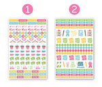 Planner Stickers Bloom Multiple Colors FA19