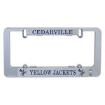 Illuminating License Plate Frame by Lumisign